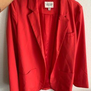 Heritage 81 Red blazer super cute!! ❤️❤️❤️ no tags